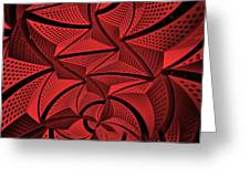 Red City 3 Greeting Card