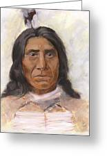 Red Cloud Greeting Card by Brandy Woods