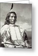 Red Cloud Chief Greeting Card