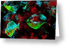 Red Coral Greeting Card