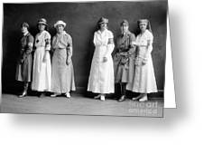 Red Cross Corps, C1920 Greeting Card