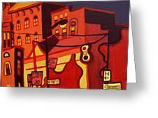 Red Cruising Baltimore Greeting Card