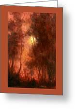 Red Dawn Ridgefield Refuge Greeting Card
