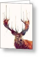 Red Deer Greeting Card