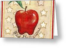 Red Delicious Two Greeting Card