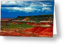 Red Desert Greeting Card