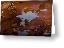 Red Desert Wash Greeting Card