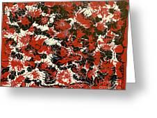 Red Devil U - V1cfs100 Greeting Card