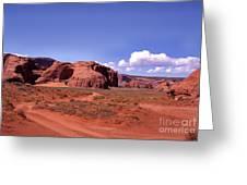 Red Dirt Road Greeting Card