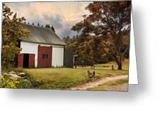 Red Door Farm Greeting Card