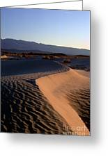 Red Dunes Greeting Card