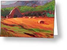 Red Farm Greeting Card