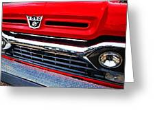 Red Ford Pickup Greeting Card