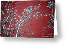 Red Glory Greeting Card