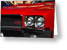 Red Gs Greeting Card