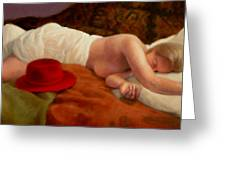 Red Hat 7 Greeting Card