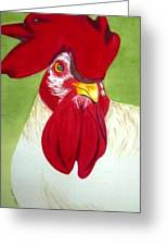 Red Hat Diva Greeting Card