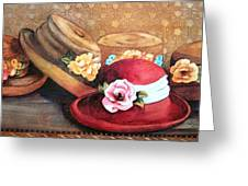 Red Hat Greeting Card