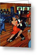 Red Hot Tango Greeting Card