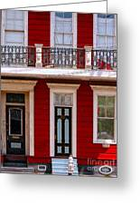 Red House-nola-marigny-2 Greeting Card