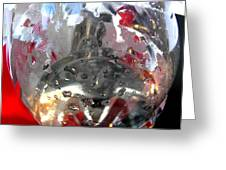 Red Lantern And Soda Water 7 Greeting Card