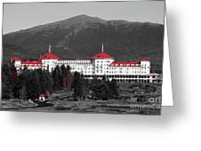 Red Mount Washington Resort Greeting Card