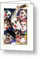 Red Noses Greeting Card