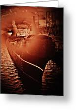 Red October -3 Greeting Card