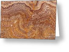 Red Onyx Greeting Card