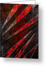 Red Pepper Abstract Greeting Card