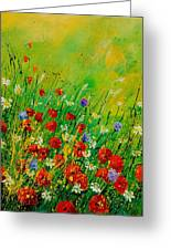 Red Poppies 450708 Greeting Card