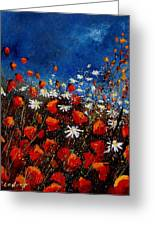 Red Poppies 451108 Greeting Card