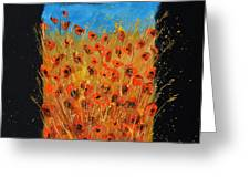 Red Poppies 6771 Greeting Card