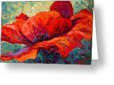 Red Poppy IIi Greeting Card