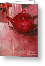 Red Pot Greeting Card
