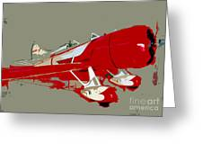 Red Racer Greeting Card
