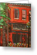 Red Ram, Georgetown, Co Greeting Card