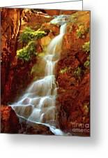 Red River Falls Greeting Card