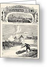 Red River Rebellion, 1870 Greeting Card