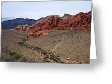 Red Rock Canyon 1 Greeting Card