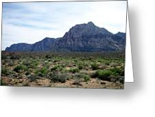 Red Rock Canyon 3 Greeting Card