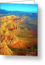 Red Rock Canyon Nevada Vertical Image Greeting Card