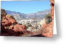 Red Rock Canyon Nv 8 Greeting Card