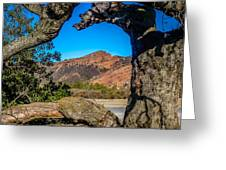 Red Rock Cliffs Greeting Card