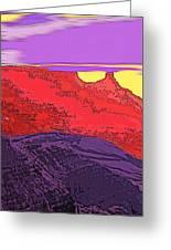 Red Rock Country - Southeastern Utah Greeting Card