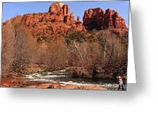 Red Rock Crossing Sedona Arizona Greeting Card