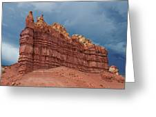Red Rock Formation Greeting Card