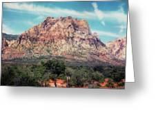 Red Rock II Greeting Card