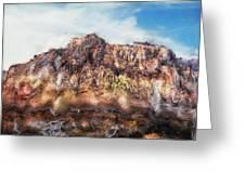 Red Rock IIi Greeting Card