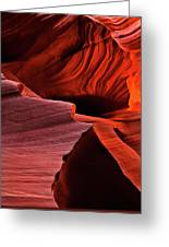 Red Rock Inferno Greeting Card
